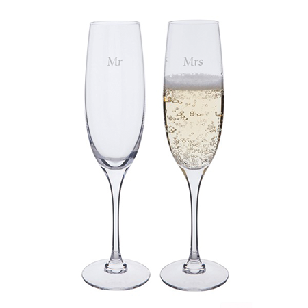 Cheateneuf Champagne Flutes