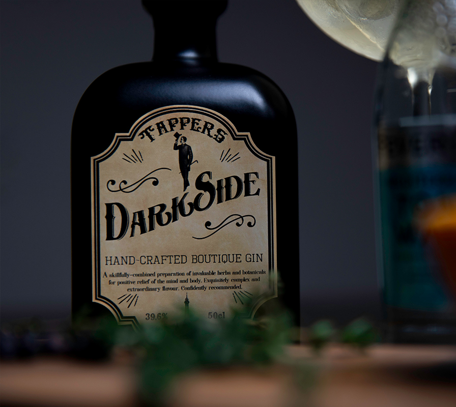 Tappers Dark Side Gin