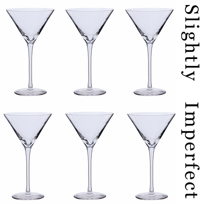 Dartington Bar Excellence Martini Glasses  SLIGHTLY IMPERFECT