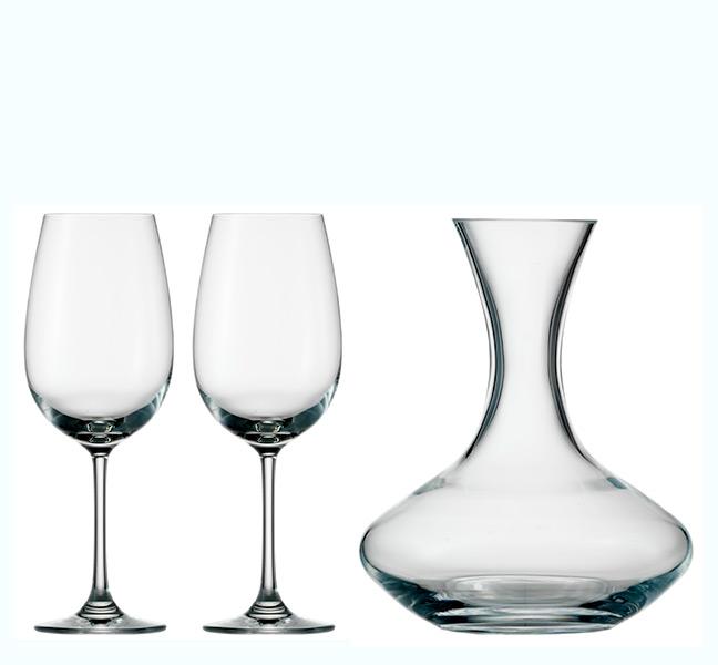 Carafe and Wine Glass Set