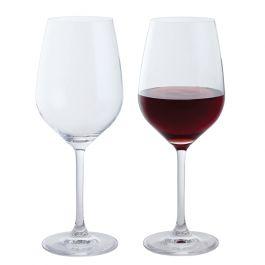 Dartington Crystal Bar Red Wine Glasses Pair