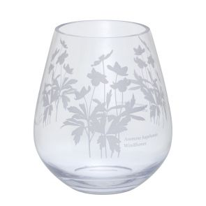 Bloom Wide Windflower Vase