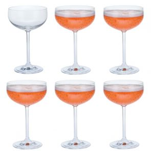 Champagne Saucer Party 6 Pack