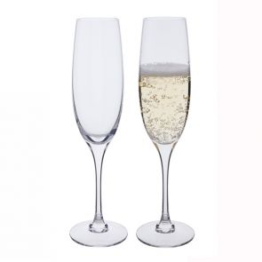 Chateauneuf Vintage Champagne Flute Glasses