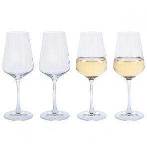Cheers! White Wine Glass, Set of 4