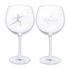 Jeffery West Wine Glass, Set of 2 - Fencer & Libertine