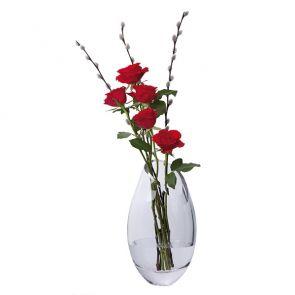 Curve Oval Vase - Slightly Imperfect