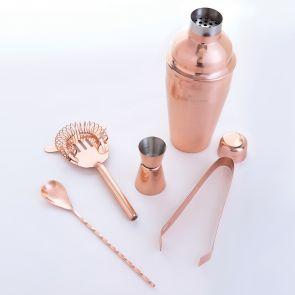 Dartington 5 Piece Copper Bar Set