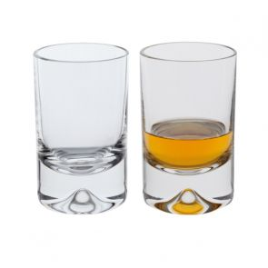 Dimple Shot Glass, Set of 2