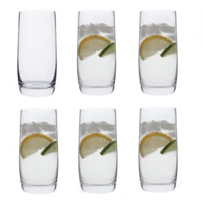 Highball Glasses 6 Pack - Drink!