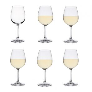 White Wine Glasses 6 Pack - Drink!