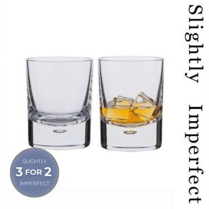 Exmoor Old Fashioned Whisky Glass, Set of 2 - Slightly Imperfect