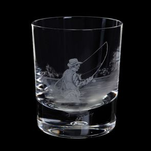 Engraved Fly Fisherman Tumbler