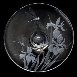 Large Iris & Dragonflies Centrepiece