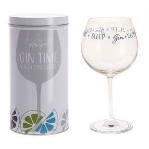 Gin Time - Eat Sleep Gin Repeat