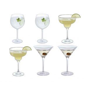 Bar Six Cocktail, Set of 6