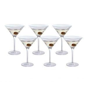 Bar Six Martini, Set of 6