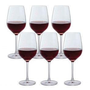 Bar Six Red Wine, Set of 6
