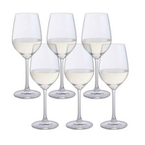 Bar Six White Wine, Set of 6