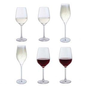 Bar Six Wine, Set of 6