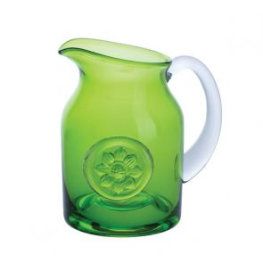Flower Jug - Anemone/Lime Small