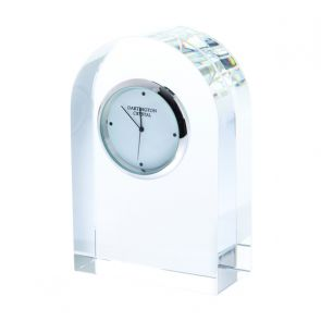 Small Curve Clear Clock