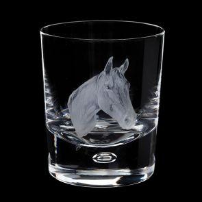 Engraved Horse Tumbler