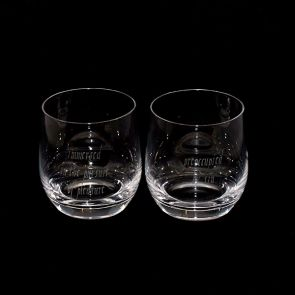 Jeffery West Tumbler Pair - Pleasure & Sin