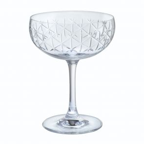 Limelight - Ice Champagne Saucer Pair