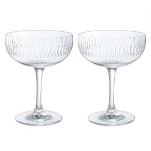 Limelight - Mitre Champagne Saucer Pair