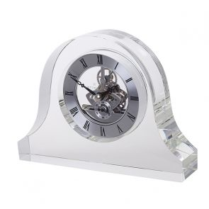 Clear Mantle Clock
