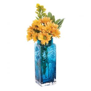 Teal Small Marguerite Vase