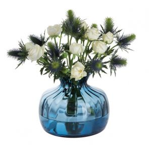 Cushion Medium Vase Ink Blue
