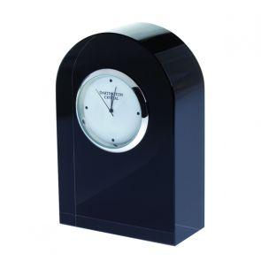 Small Curve Black Clock