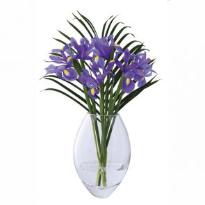 Opus Small Oval Vase