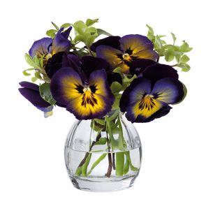 Florabundance Pansy Vase