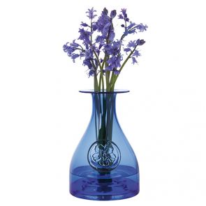 Flower Bottle - Primrose/Cobalt