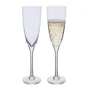 Rachael Champagne Flute Glasses