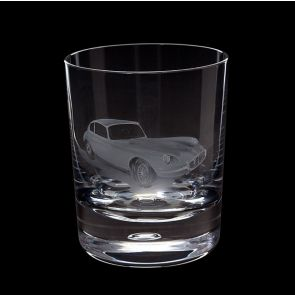 Engraved Jaguar E-Type Tumbler