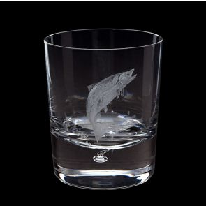 Engraved Salmon Tumbler