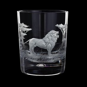 Majestic Wildlife Lion Tumbler