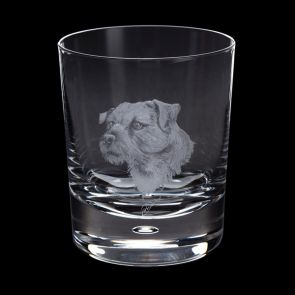 Engraved Border Terrier Tumbler