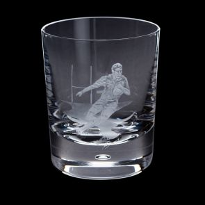 Engraved Rugby Tumbler