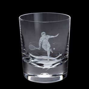 Engraved Tennis Tumbler