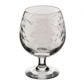 Fuchsia Brandy Glass