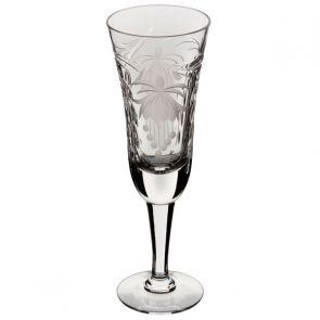 Fuchsia Champagne Flute