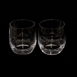 Jeffery West Tumbler Pair - Reprobate & Degenerate