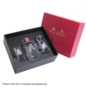 Engraved Game Pheasant Decanter & A Pair Of Engraved Pheasant Tumblers