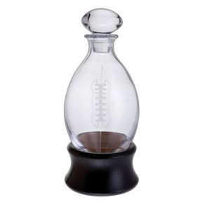 Rugby Ball Decanter with Stand