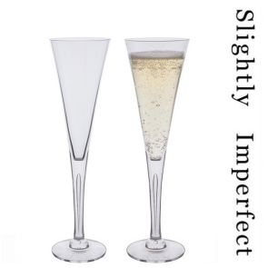 Sharon Celebration Flute Glasses - Slightly Imperfect